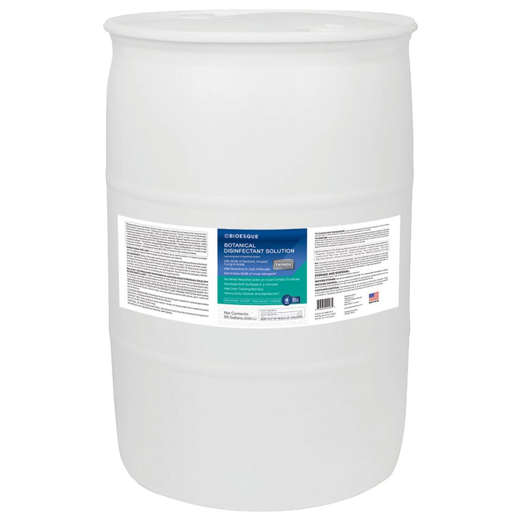 Bioesque Botanical Disinfectant 55 Gallon Drum