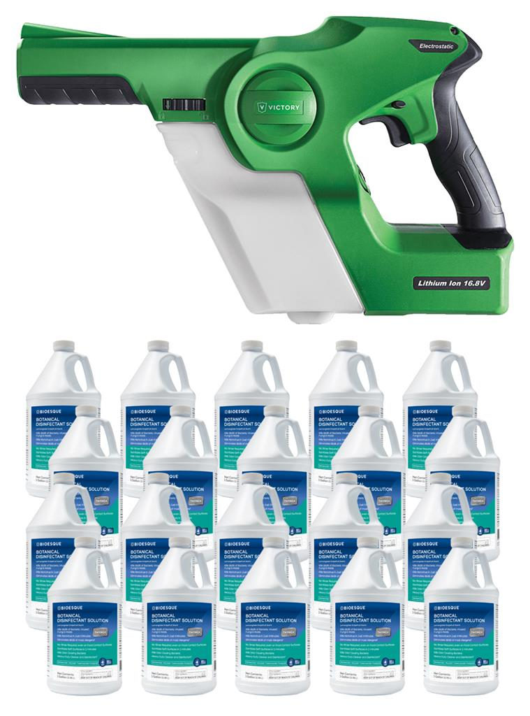 SPECIAL: Victory Handheld Sprayer + Bioesque Bundle