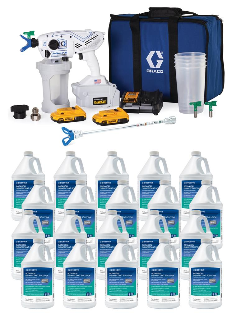 SPECIAL: Graco Battery Powered Sprayer + Bioesque Bundle